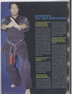 Kenpo-Karate Interview mit Jeff Speakman