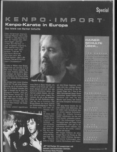 Kenpo-Karate in Europa